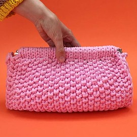 WOOL AND THE GANG - 【HEY NOW CLUTCH】knit