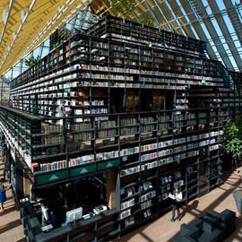 MVRDV - Book Mountain + Library Quarter in Spijkenisse