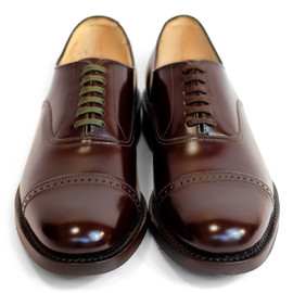 SANDERS - MILITARY PUNCH CAP TOE [BURGUNDY]