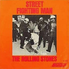 The Rolling Stones - Street Fighting Man US 7inch Picture Sleeve