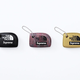 Supreme, THE NORTH FACE - Floating Keychain