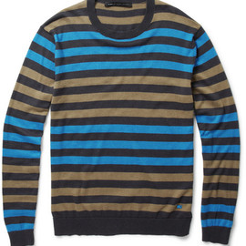 Marc by Marc Jacobs - Marc by Marc JacobsStriped Silk-Blend Sweater
