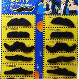 Fake Mustaches Costume Party Disguise