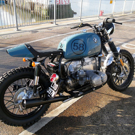 "BMW - R100 Scrambler ""SPIDER"" by KEVILS SPEED SHOP"
