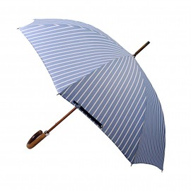London Undercover - Oxford Wide Stripe City Gent Umbrella