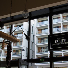 Cafe Route - Dalston Junction, London