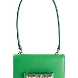 VALENTINO - Green leather 'Va Va Voom' shoulder bag