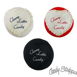 Candy Stripper - CHERRY LOTTA CANDY BERET