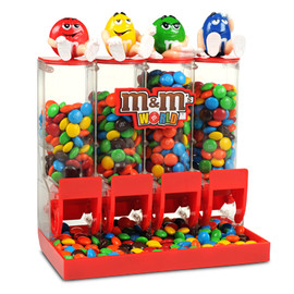 M&M's - Four Tube Dispenser