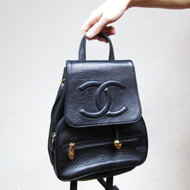 CHANEL - vintage backpack