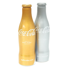 "Coca-Cola - DAFT PUNK ""Club Coke"" Bottles"