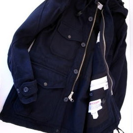 engineered garments - Field parka (navy)