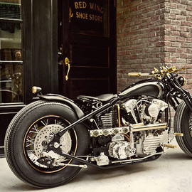 Rough Crafts x Zero Engineering - Harley knucklehead