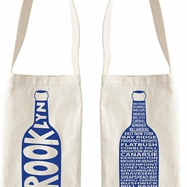 MAPTOTE - Brooklyn Wine Tote
