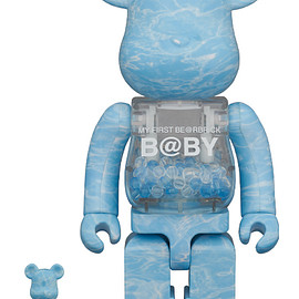 MEDICOM TOY - MY FIRST BE@RBRICK B@BY WATER CREST Ver.100% & 400%