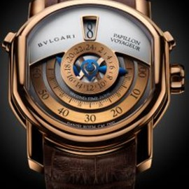 BVLGARI - BULGARI  Papillon Voyageur  #bulgari #watch♥
