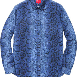 Supreme - Snake Flannel Shirt