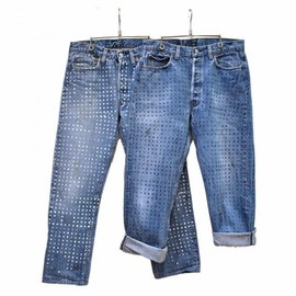 MADE by HEALTH  - MADE by HEALTH // DIY DOT PAINT PANTS