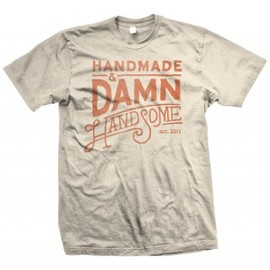 Handsome Coffee Roasters - Damn Handsome Tee - Sand