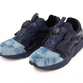 PUMA - UNITED ARROWS & SONS × 5525GALLERY × PUMA DISC BLAZE INDIGO