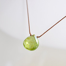 Margaret Solow - Faceted Peridot Necklace