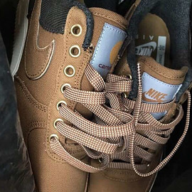 NIKE, Carhartt WIP - Air Force 1 Low - Ale Brown/Sail/Ale Brown