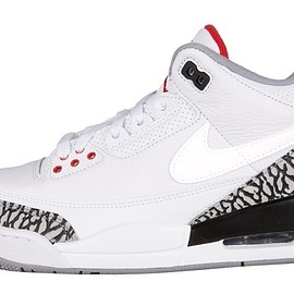Jordan Brand - Air Jordan 3 JTH - White/Cement/Fire Red