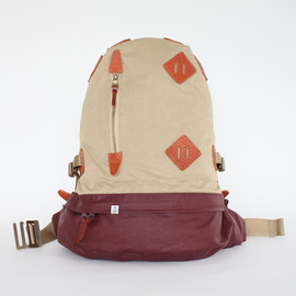 VISVIM - SUMMIT PAPOOSE - BURGUNDY