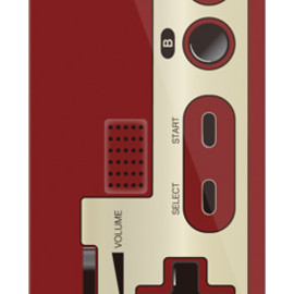 SECOND SKIN - コントローラー2(クリア) / for iPhone 5/softbank