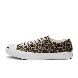 CONVERSE Jack Purcell - Jack Purcell Leopard Fur Brown