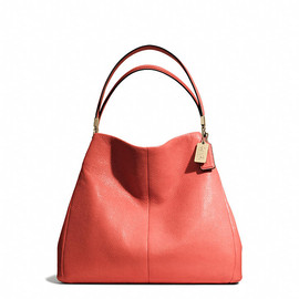 COACH - MADISON SMALL PHOEBE SHOULDER BAG IN LEATHER