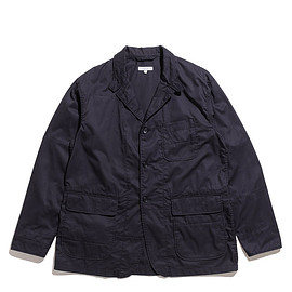 ENGINEERED GARMENTS - Loiter Jacket/Solid-High Count Twill-Dk.Navy