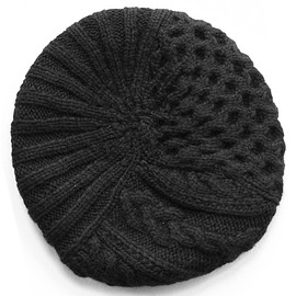 PHINGERIN - Knitted Belet 12' (black)