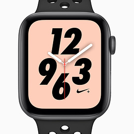 Apple - Apple Watch Series4 Nike+ GPS 44mm SpaceGray