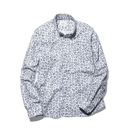 uniform experiment - LEOPARD B.D SHIRT