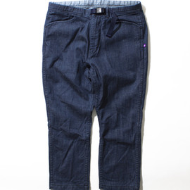 THE NORTH FACE PURPLE LABEL - 4/5 Stretch Denim Climbing Pants