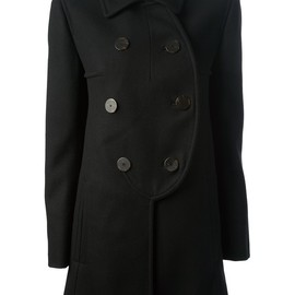 CARVEN - sculpted peacoat