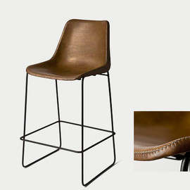 TOYO KITCHEN SELECTION - Leather Stool|レザースツール