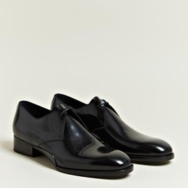 Balenciaga - Patent Leather Derby Shoes