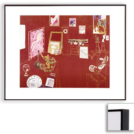 Henri Matisse - The Red Studio (Dark Brown Frame)