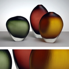 db glassworks - Aurora Vases