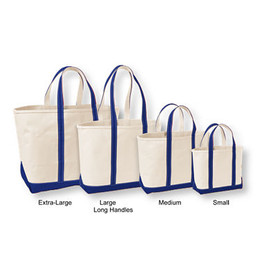 L.L.Bean - Boat & Tote Bag, Open Top (Regatta Blue)