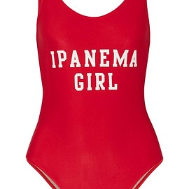 Adriana Degreas - Ipanema Girl printed swimsuit