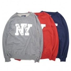 ONLY NY - OUTFIELD FRENCH TERRY CREWNECK