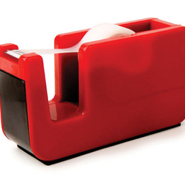 Tape Dispenser Retro Red
