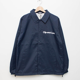 cup and cone - Ice Cream Coaches Jacket - Navy