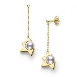 TASAKI - comet earrings