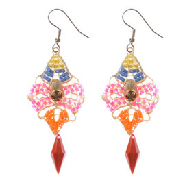 Emma Cassi -  Multi colored earrings