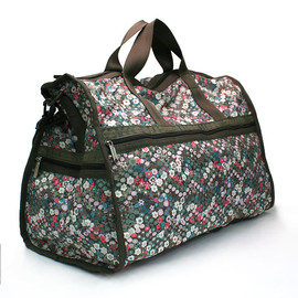 LESPORTSAC - LARGE WEEKENDER LAUREL GARDEN PATH