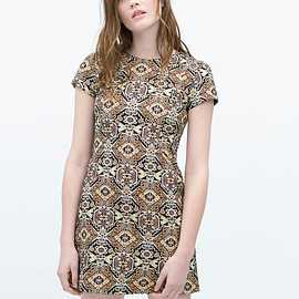 ZARA - jacquard one piece